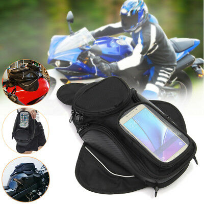 Motorcycle Motorbike Waterproof Magnetic Oil Fuel Tank Bag Phone GPS Pouch AU