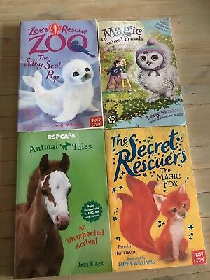 4 X Kids Books EUC Read Twice