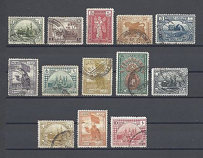 IRAQ 923-25 SG 41/53 USED Cat £42