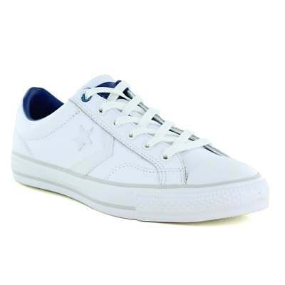 Converse 15133C Chuck Taylor All Star Unisex Leather Oxford Shoes - White