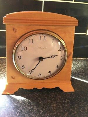 A Stunning Vintage Mantel Clock by Comitti of London