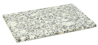 Home Basics NEW White Marble Rectangle Granite Cutting Board - CB45241 CB45242
