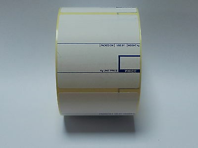 CAS Scale Labels Thermal 58mm x 60mm 40 Rolls Free Del!