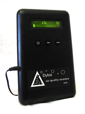 Air Quality MOnitor Dylos DC1100 Pro DC1100 features technology and engineering