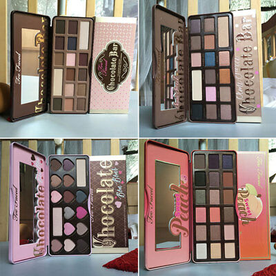 Neu Too Faced Chocolate Bar & BON BONS & Semi Sweet Eyeshadow Collection Palette