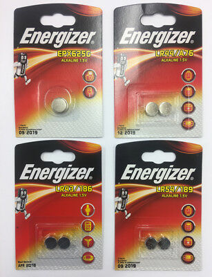 ENERGIZER Coin Cell Battery 1.5V LR54/LR44/LR43/LR9 Alkaline Batteries 357 AG13