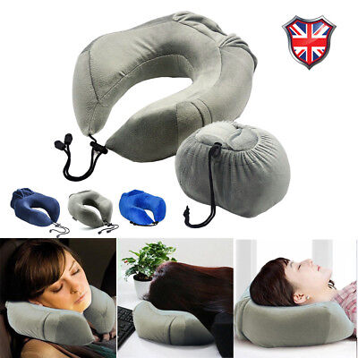 Extremely Soft and Comfy Memory Foam Luxury Travel Neck Neck Pillow UK