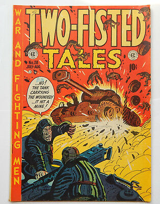 Two-Fisted Tales #28 by EC (July-Aug 1952) VG