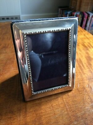 hallmarked sterling silver picture frame