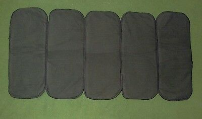5 brand new Charcoal bamboo insert for cloth diapers cloth nappy inserts 5 layer