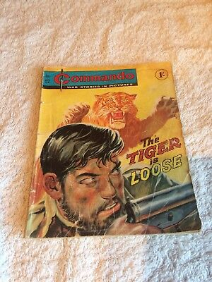 Very Early  Commando Comic Number  52