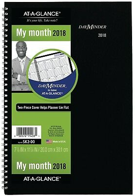 AT-A-GLANCE DayMinder Monthly Planner, 2018, December 2017 - January 2019