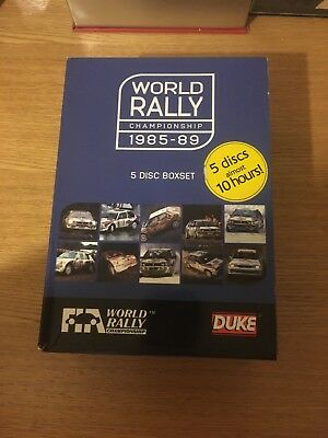The World Rally Collection 1985-1989 (DVD, 2008, 5-Disc Set)