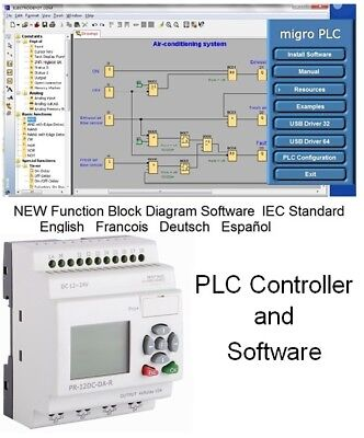 PLC Programming Software for Programmable Logic Controllers Function Block Learn