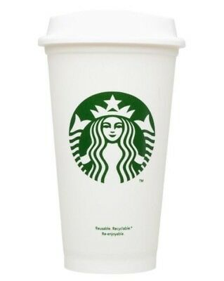 NEW Starbucks Reusable Commuter Travel Mug Travel Cup ToGo Coffee Tea Cup Grande