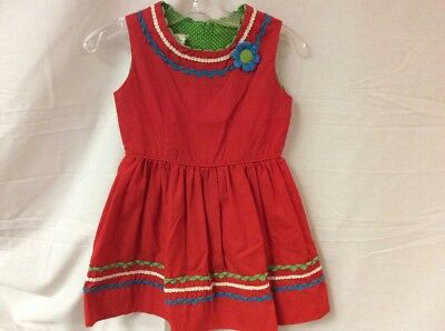 Vintage Little Girls Dress *By Suzanna Of Dallas Size 4