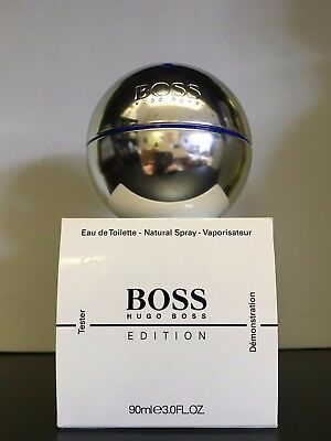 Boss In Motion Blue Edition By Hugo Boss 3 Oz / 90 Ml Eau De Toilette New In Box