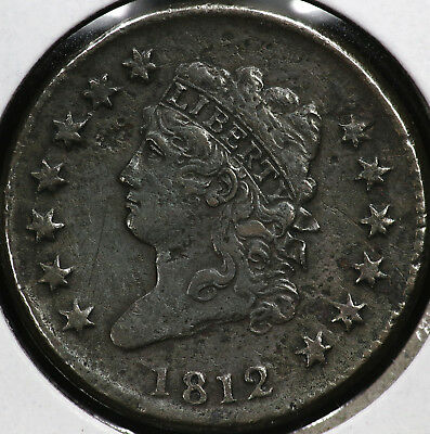 1812 Classic Head Large One Cent
