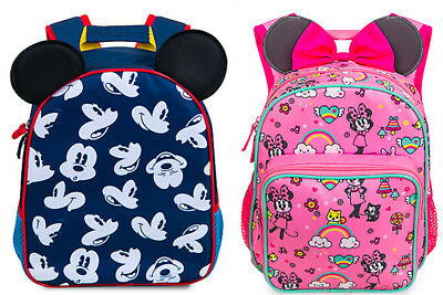 NWT Disney Store Minnie Mickey Mouse Backpack School Girls Toddler Junior Size