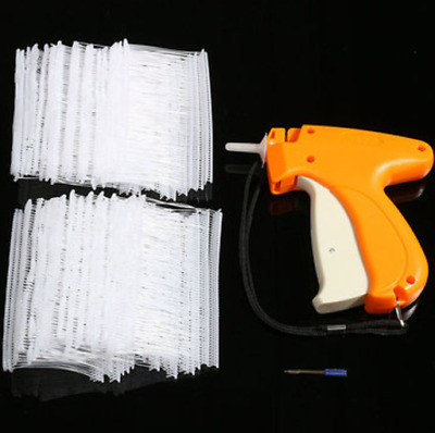 Garment CLOTHING PRICE LABEL TAGGING TAG TAGGER GUN WITH 1000 BARBS 6 Needle NEW