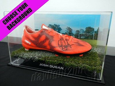 ✺Signed✺ JOSH DUGAN Boot PROOF COA Cronulla Sharks St George Dragons 2019 Jersey