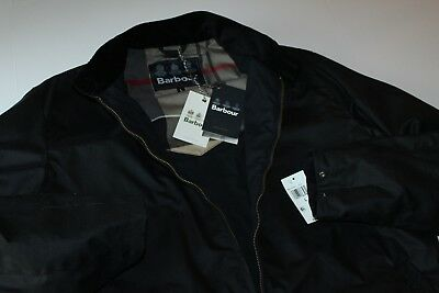 Barbour Jacket Coat Waxed Brompton MWX1170NY92 New Large  L