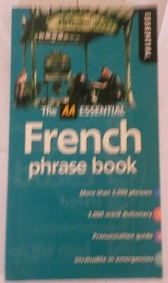 The AA Essential French Phrase Book Learning Speak France Language Europe