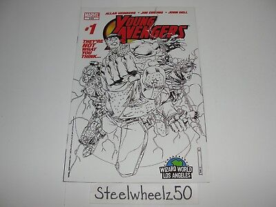 Young Avengers #1 Comic VARIANT Wizard World Los Angeles Exclusive 2005 Marvel