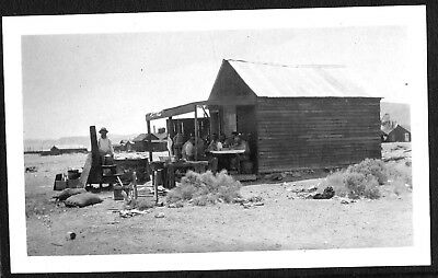 Vintage Photograph 1910 Searles Mojave Desert Mining Borax California Old Photo