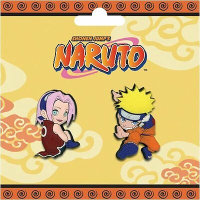 *NEW* Naruto: Sakura & Naruto Pin (Set of 2) by GE Animation