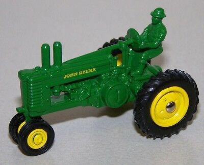 John Deere 1934 Model A General Purpose Tractor With Driver Scale 1/64  Diecast