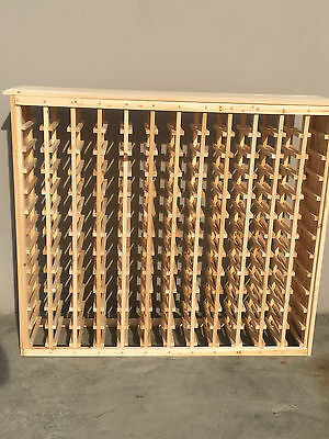 144 Bottle Timber Wine Rack - Great for wine collection storage - SALE PRICE