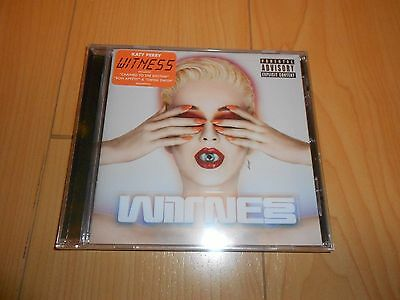 Witness [PA] by Katy Perry (CD, Jun-2017, Capitol) *NEW/SEALED*