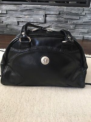Lululemon Black Gym Bag Small