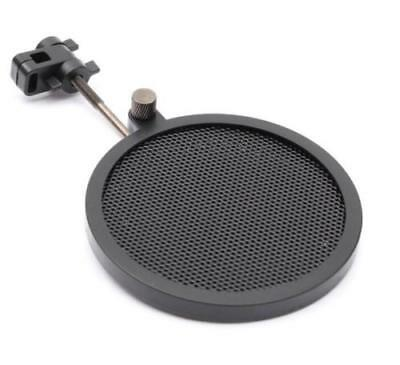 Record Studio Microphone Mic Wind Screen Pop Filter Mask Shield Dual Layer ^