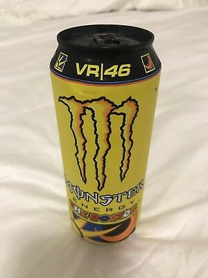 Energy Drink Monster VR 46 Valentino Rossi Doctor Full Can signature