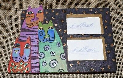 Laurel Burch Cats Picture Photo Frame