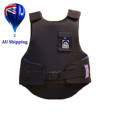 Horse Riding Body Protector Equestrian Eventer Safety Vest Adults Size MN