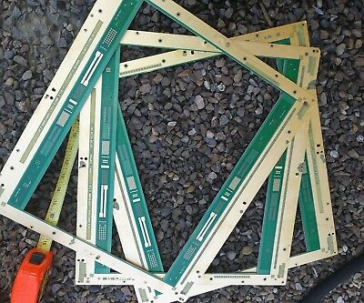 "3 huge 18""x16"", gold circuit boards ""fallaway frame scrap"" for gold recovery!!"