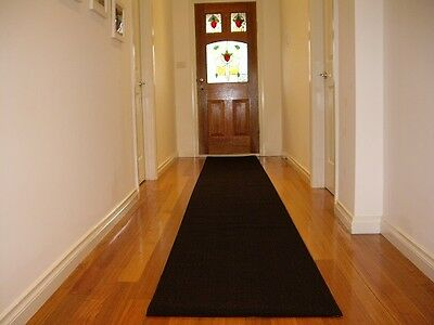Hallway Runner Hall Runner Rug Modern Black 5 Metres Long