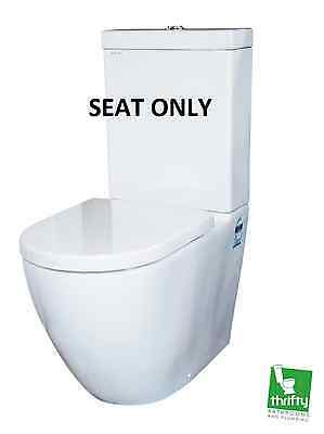 Parisi Ellisse Soft-Close Seat Only in White - PN5161