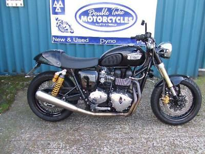 Triumph Bonneville T100 Cafe Racer Modified Spring Sale 549900
