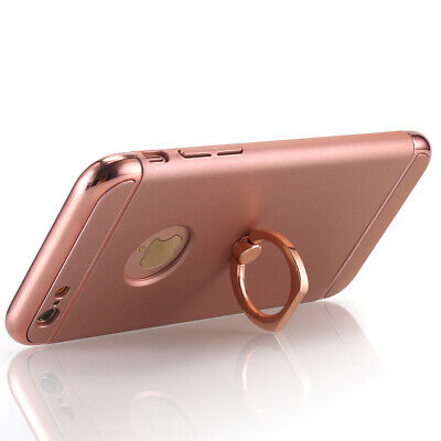 iPhone XS Max XR X 6s 7 8 Plus Hybrid Slim Shockproof Phone Case Kickstand Cover
