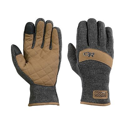 Outdoor Research Exit Sensor Gloves Charcoal Winterhandschuh Touchscreen