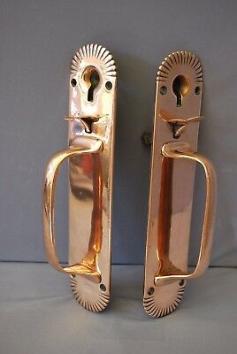 Bronze Door Handles Latches Sunrise Design By Gibbons Of Wolverhampton