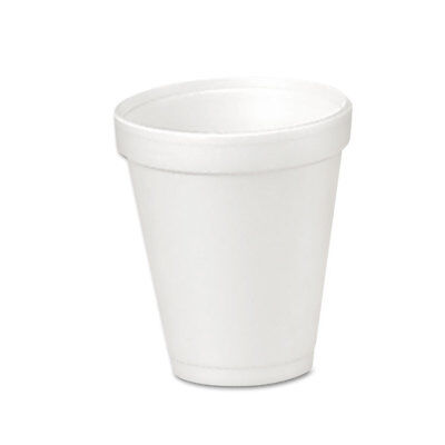 Dart Foam Drink Cups 4oz 25/Bag 40 Bags/Carton 4J4