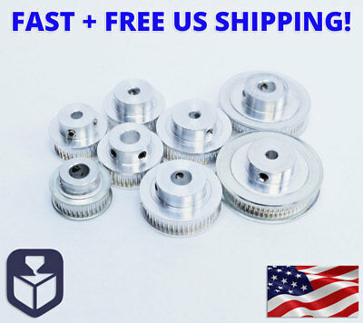 GT2 Timing Belt Pulleys, 36T/40T/48T/60T Teeth, 5mm/8mm Bore  for 3D Printer CNC