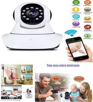 HD 720P IP Camera Lens 3.6mm 1.0MP Security Cam Network IR Night Vision White
