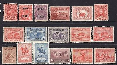 Australia - 1913-1949 - mint collection