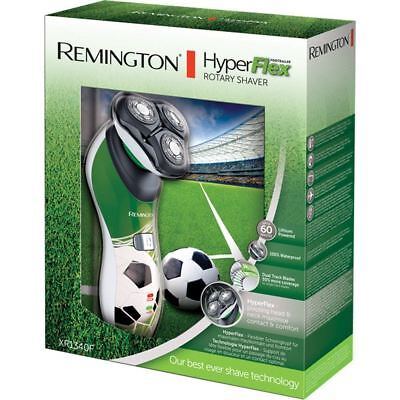 Remington Men HyperFlex Electric Rotary Shaver Rechargeable Football Edition Kit